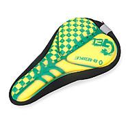 INBIKE High Elastic Fabric+GEL Yellow+Green Cycling Saddle Cover
