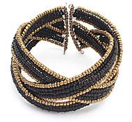 Wrap Bracelet Acrylic Beads Weave Bracelet (Random Color)