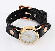 Women's  Simple Leather Fashion Watches (Assorted Colors)