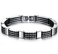 Z&X®  Men's Fashion Simple Bicycle Chain Titanium Steel Bracelet