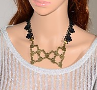 Retro Simple Dance Lace Necklace