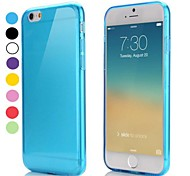 Ultra Thin Style Soft Flexible TPU Cover for iPhone 6(Assorted Colors)