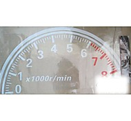 Cool Large 60cm Reflective Tachometer Car Stickers
