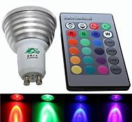 rgb decoración luz de la lámpara - blanco (85 ~ 265V) 240LM 4W gu10