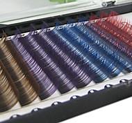 8mm Multicolor Eyelash Extention False Eyelash
