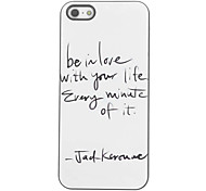 Be in Love with your Life Design Aluminium Hard Case for iPhone 4/4S