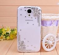 Diamant Blütenblatt rückseitigen Abdeckung für Samsung Galaxy S4 i9500
