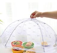 Gauze Hexagonal Mesh Prevent Mosquitoes and Flies Food Cover,Color Random65x65x43cm