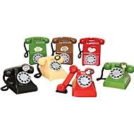 criativos brinquedos velhos bancos de poupança forma de telefone para presentes