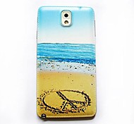 Sand-Muster dünne Hard Case für das Samsung Galaxy Note 3