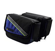 Cycle Bag / Bike Frame Bag / Cell Phone Bag Waterproof / Reflective Strip / Wearable / Phone/Iphone Cycling/Bike Oxford Black / Blue