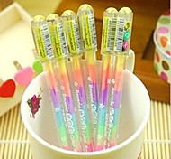 Gorgeous Design Plastic Gel Pens(1pcs)