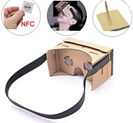 NEJE DIY Google Cardboard Virtual Reality 3D Glasses Headband with NFC for 4-7 Inch Cellphone