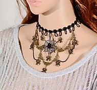 European Fashion Cobweb Lace Necklace