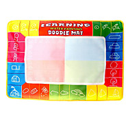 74*50*1.5cm Children's Magic Extended Size Water Painting Mat Board Novelty Toys(1 pen)
