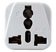 "Power Converter Socket Universial Two Feet Plastic L1"" x W1"" x H2"""
