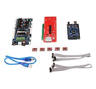 3d управления принтера доска комплект комплект (1.5.7 Панель управления + 2560 R3 + 2004 главная панель управления + водитель 4988)