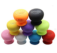 Adsorption Type Waterproof Wireless Bluetooth Speaker Attractive Appearance Multifunction Mini Mushroom (Assorted Colors)