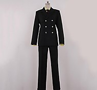 One Piece Sanji Black Suit Cosplay Costume