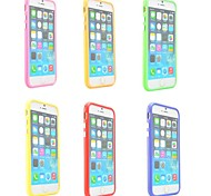 TPU Bumper Frame for iPhone 6 (Assorted Colors)