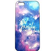 Familie Galaxie-Muster Hülle für das iPhone 4 / 4s