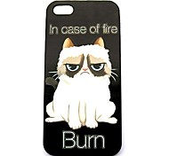 Grumpy Cat  Pattern Hard Case for iPhone 4/4S