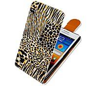 kleurrijke brief up-down omdraaien pu leer full body case voor Samsung Galaxy i9100 s2