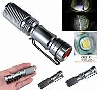 Lanternas LED / Lanternas de Mão LED 3 Modo 200 Lumens Cree XP-E R2 - paraCampismo / Escursão / Espeleologismo / Uso Diário / Ciclismo /