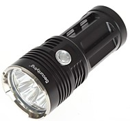SecurityIng® 3 Mode 4xCREE XM-L T6 LED Waterproof  Flashlight(4000LM,4×18650Battery,Black)