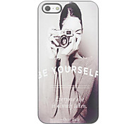 Be Yourself Design Aluminium Hard Case for iPhone 4/4S