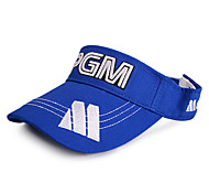 PGM White+Blue Sunproof Golf Hat With No Cover
