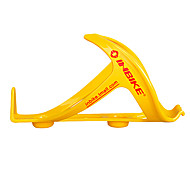 INBIKE PC Plastic Steel Yellow Wearproof Cycling Water Bottle Cage