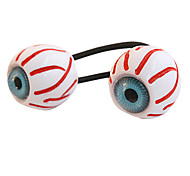 Fashion Bloodshot Eyeballs Hair Ties Random Color