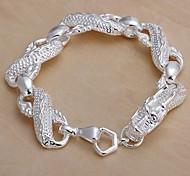 Lureme®Big White Dragon Bracelet-Man