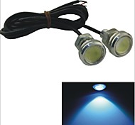 Carking™ 12V 1.5W 23MM Auto Car  LED Eagle Eye DayTime Running Light Reverse Lamp-Ice Blue