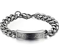 Z&X®  Men's Fashion Vintage Chain Titanium Steel Bracelet