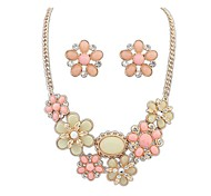 Beautiful Bohemian Amorous Feelings of Big Suits(Necklace and Earrings)