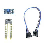 Soil Hygrometer Moisture Detection Control Module LM393 Chip DC 3.3-5V for Arduino
