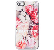 To Be Happy Design Aluminium Hard Case for iPhone 4/4S