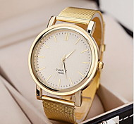 Women's Watch Fashionable Golden Case Alloy Band  Cool Watches Unique Watches
