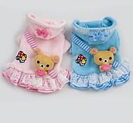 schöne Bären Kleid Design Kleidung für Hunde Haustiere (verschiedene Größen, Farben)
