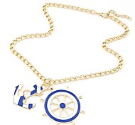 Golden Pendant Necklaces Daily Jewelry