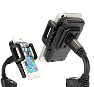 Flexible Banding Neck 360°Universal Car Charging Phone Holder Mount 3.1 for iPhone Samsung HTC and Other