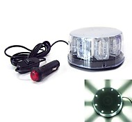 Car Truck Beacon Light Bar Flashing Warning 24 LED Light(Optional Colors)