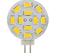 JUXIANG Dekorativ Spot Lampen A G4 3 W 250 LM 6000-6500 K 12 SMD 5730 Kühles Weiß DC 12 V