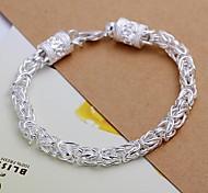 Women's Fashion Bracelet Sterling Silver