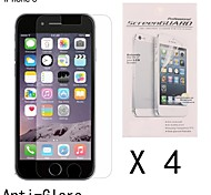 4 pcs Anti-Fingerprint High Definition Front Screen Protector for iPhone 6S/6