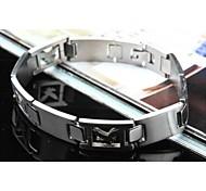 Men's Fashion Personality Titanium Steel Eagle Hollow Bracelets