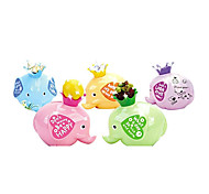 Happy Elephant Shape Coin Bank Toys for Gifts