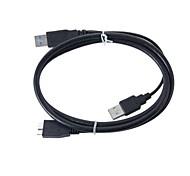 1m USB 3.0 Stecker + USB 2.0-Stecker auf Micro-USB-3.0-Kabel versandkostenfrei